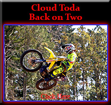 Cloud Toda Back on Two