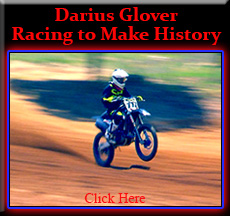 Darius Glover Racing to make History