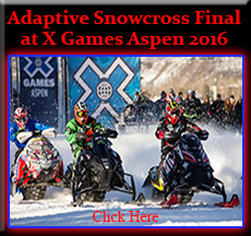 Adaptive Snowcross Final at X Games Aspen 2016